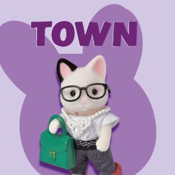 brinquedos Sylvanian Families Town