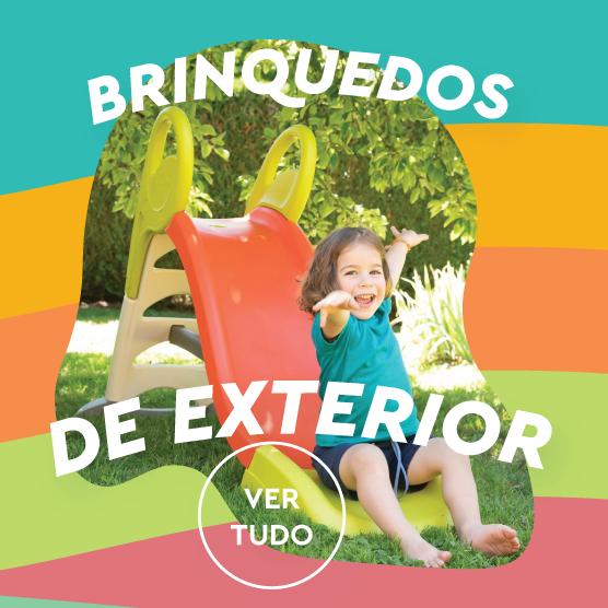 BRINQUEDOS JARDIM E EXTERIOR