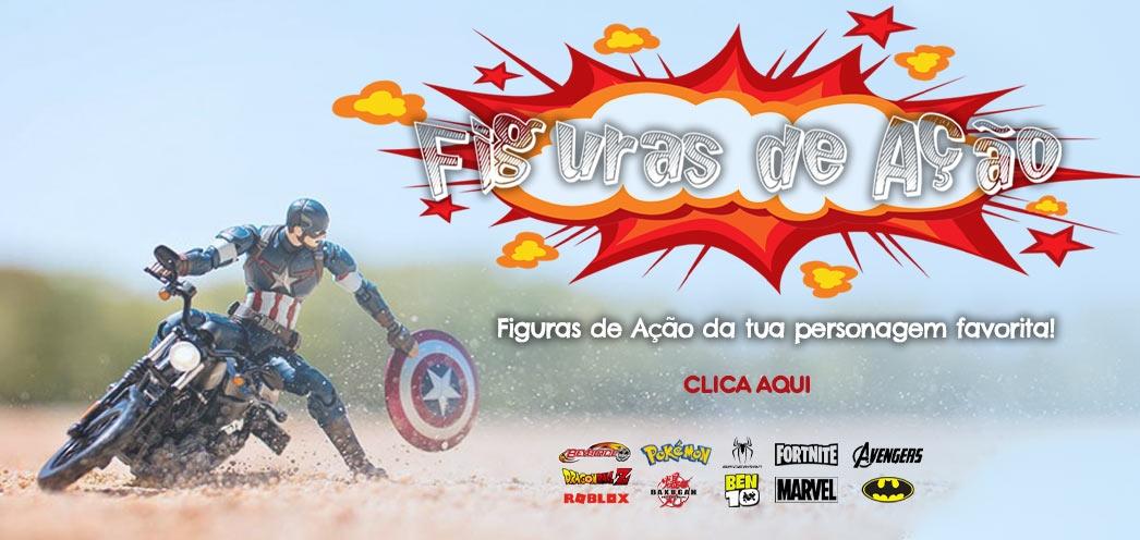 comprar figuras de ação online | Centroxogo.pt