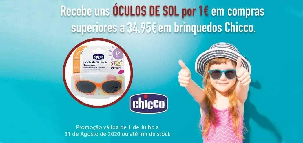 Promoção oculos Chicco
