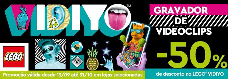 Promoção Lego Vidiyo