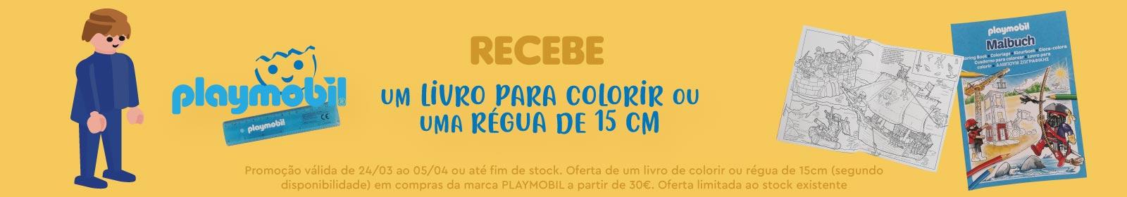 Promoção Playmobil