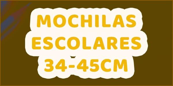 Mochilas Escolares 34-45 cm