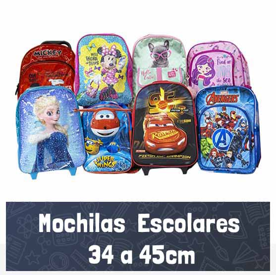 Mochilas Escolares 34-45cm